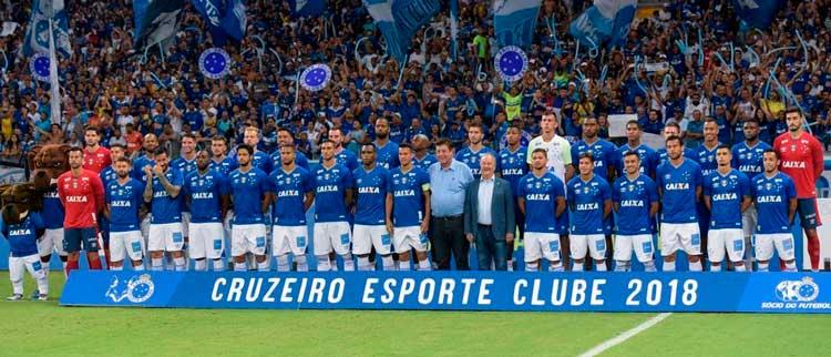Elenco Cruzeiro 2018