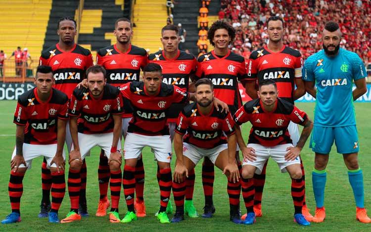 Elenco Flamengo 2017