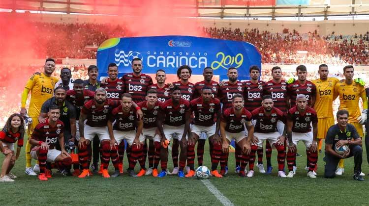 Elenco do Flamengo 2019