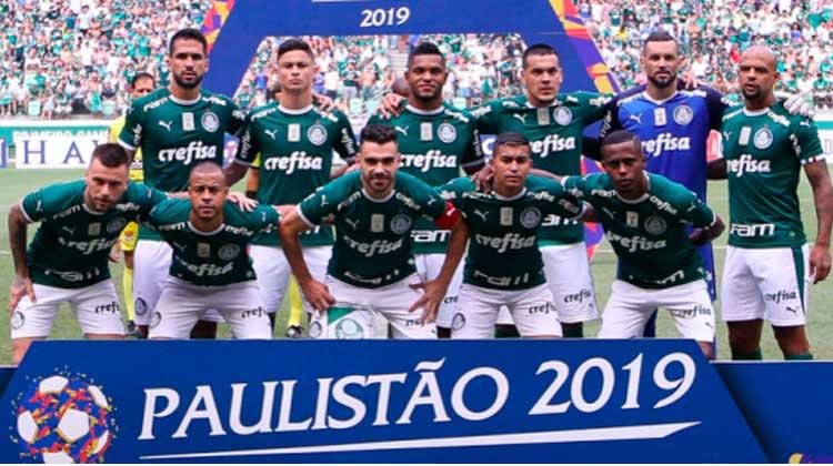Elenco do Palmeiras 2019