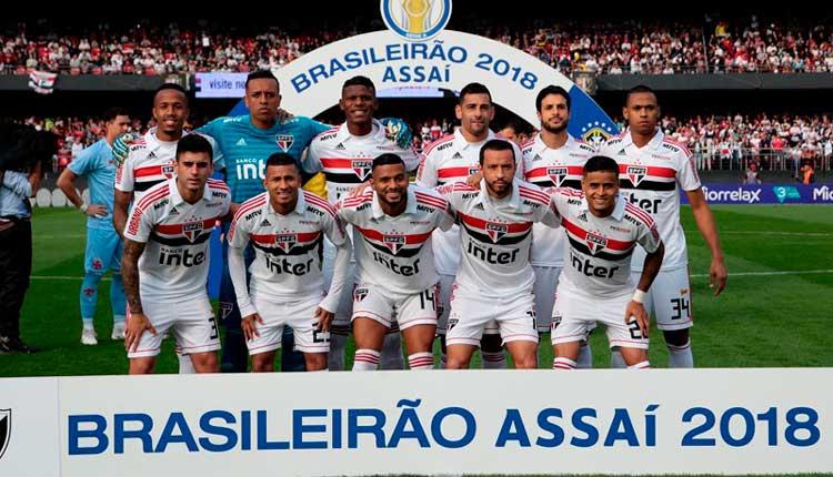 Elenco São Paulo 2018