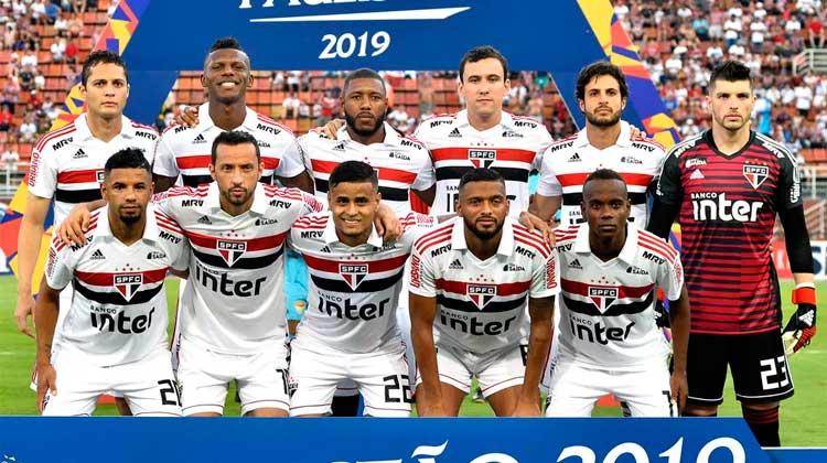Elenco do São Paulo 2019