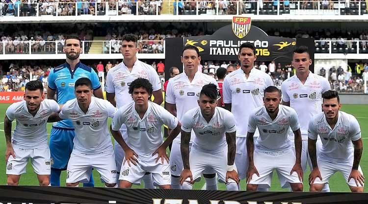 Elenco Santos 2016