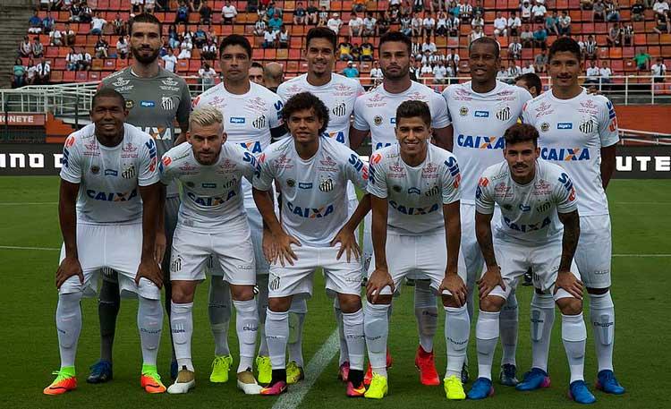 Elenco Santos 2017