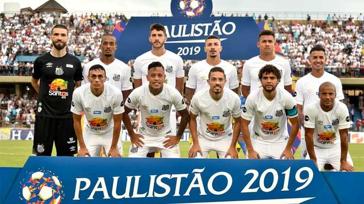 Elenco do Santos 2019