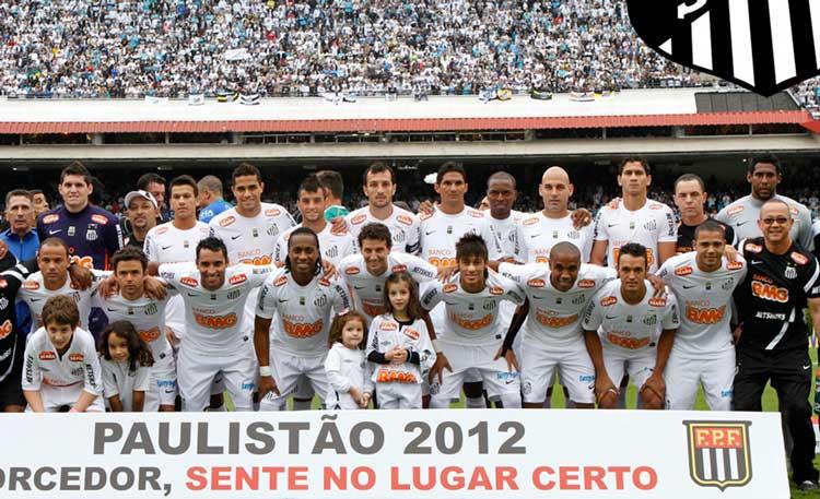 Elenco Santos 2012