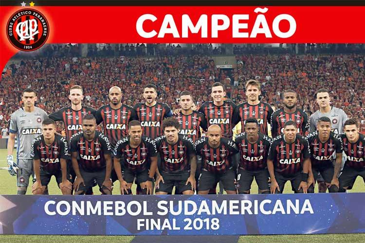 Elenco Athletico-PR 2018