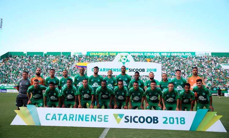 Elenco Chapecoense 2018