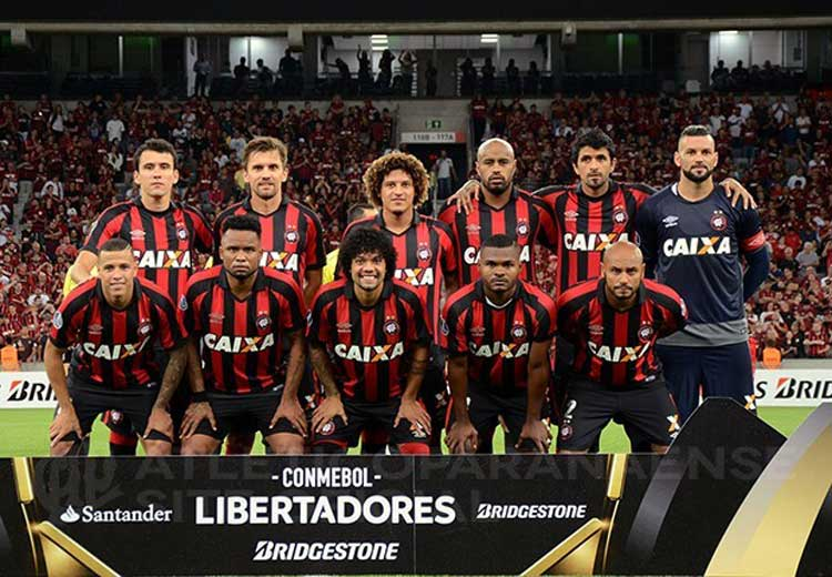 Elenco Athletico-PR 2017