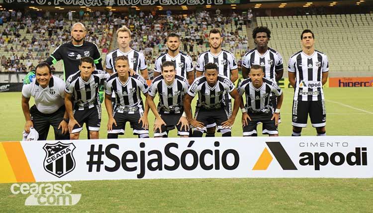 Elenco Ceará 2017