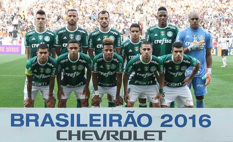 Elenco Palmeiras 2016