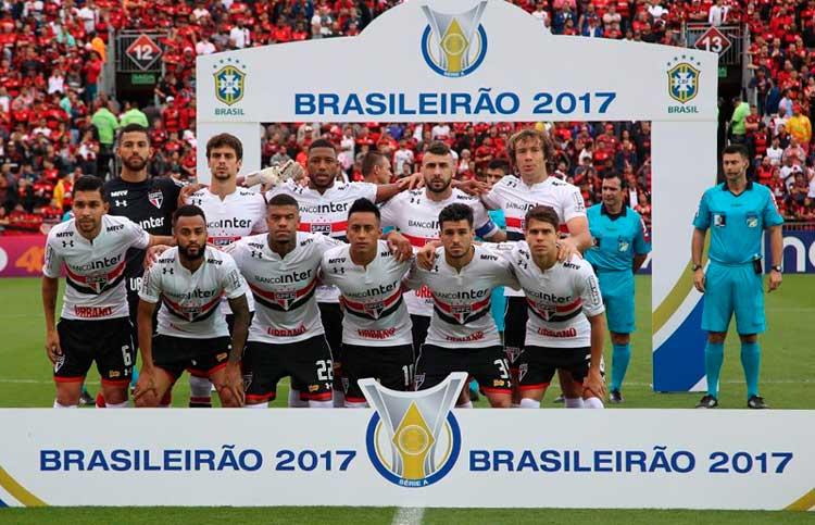 Elenco São Paulo 2017